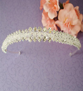 Swarovski Crystal Headband - La Bella Bridal Accessories