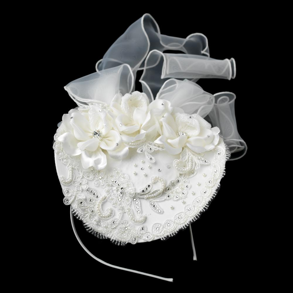 Elegant Russian Bridal Hat - La Bella Bridal Accessories