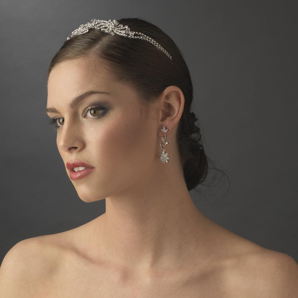 Vintage Crystal Headband - La Bella Bridal Accessories