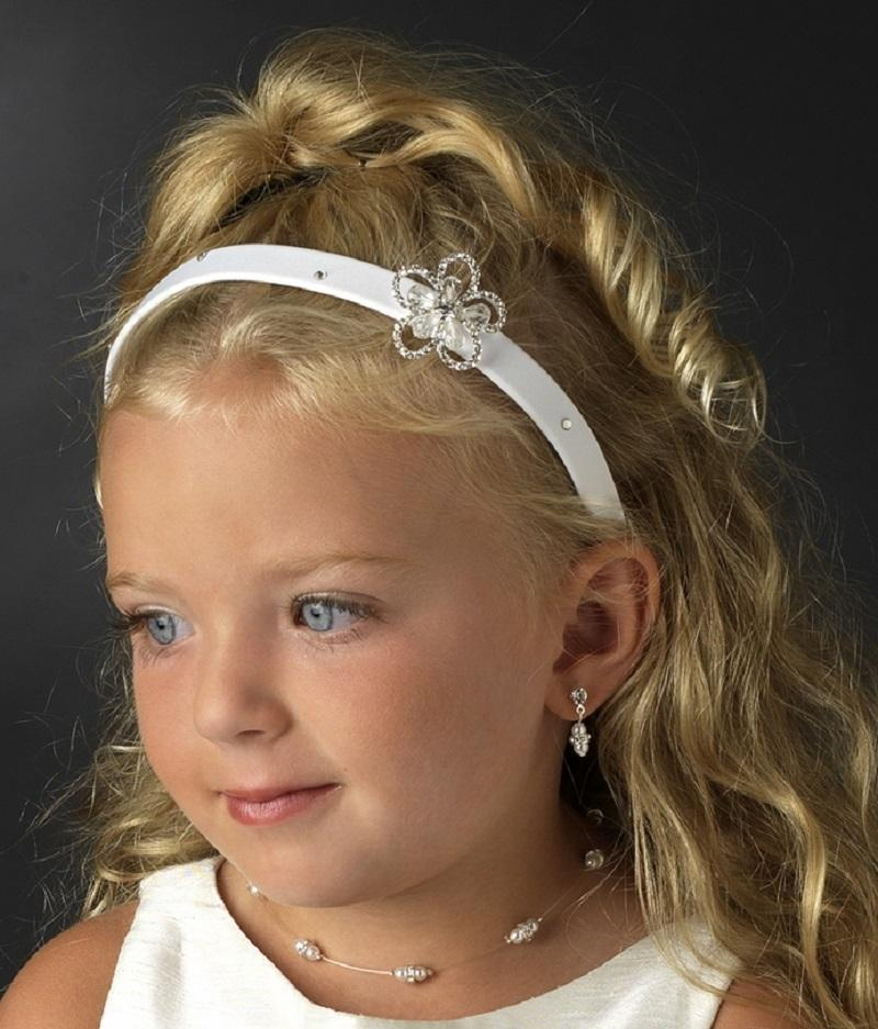 Flower Girl Headband - La Bella Bridal Accessories