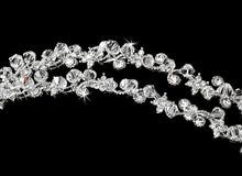 Gorgeous Double Swarovski Crystal Headband - La Bella Bridal Accessories