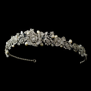 Vintage wedding tiara, 1920s, Gatsby, vintage, tiara, tiaras, crown, crowns, wedding tiaras, wedding tiara, wedding crown, bridal tiara, bridal crown, wedding crystal crown, crystal tiara, crystal crown, crystal bridal tiara, wedding headpiece, bridal headpieces