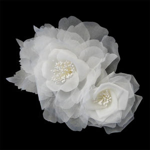 Hair Flower, Bridal flower Comb, Flower clip, Bridal headpieces, wedding headpiece