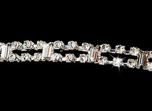 Sparkling Double Band Crystal Wedding Headband