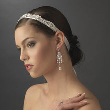wedding headband, bridal headpieces, wedding headpiece, crystal headband