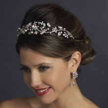 Vintage Inspired Pearl and Crystal Wedding Headband - La Bella Bridal Accessories