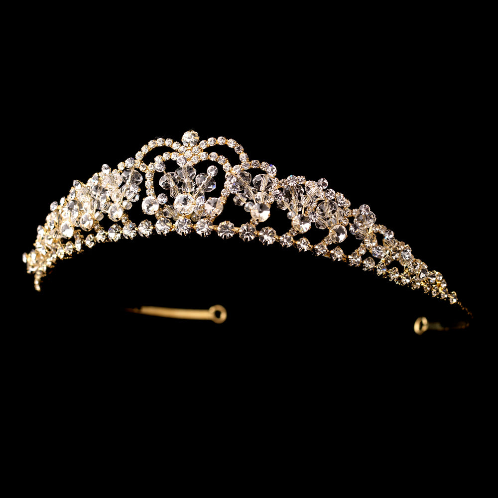 Swarovski Crystal Tiara Headpiece