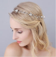 Hair Accessories - Crystal Leaf Hairband