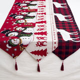 Christmas Table Runner Rope knot