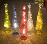 Christmas Tree Copper Wire Led Light