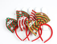 Christmas Ribbon Hairband