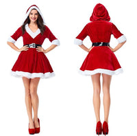 Mrs. Claus Cosplay Shorts dress