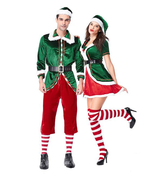 Couple Christmas Cosplay Dress
