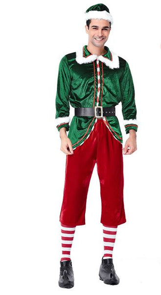 Christmas Party Cosplay Set for Men's