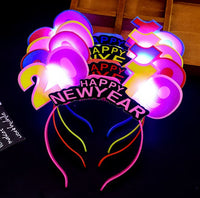 2019 led light hairband