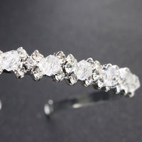 Hair Accessories - Crystal Rhinestones Tiara Hairband