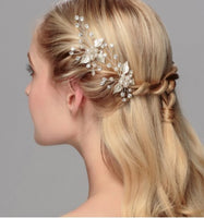 Hair Accessories -  Wedding Rhinestone Faux Peal Hair Pin - 2 pcs/set