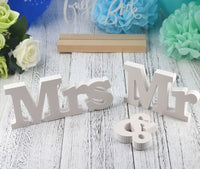 Deco - Mrs & Mr Sign Wedding Decoration