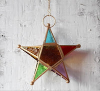 Deco- Morocco style Star Shape Candle Holder