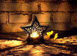 Deco - Star Shape Lace Candle Holder