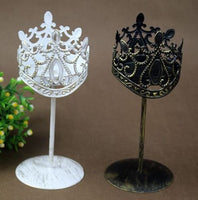 Deco -  Royal Crown Style Candle Stander Holder