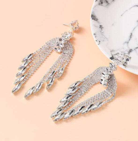 Waterfall Long Earrings