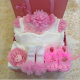 New Born Ruffles Gift Box 6 pcs Set