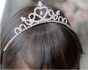 Hair Accessories - Wedding Flower Girl's Rhinestone Tiaras