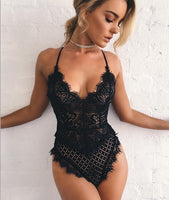 Women's Lace Lingerie Ultra Sexy Teddy Nightwear