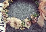 Hair Accessories - Bridal Flower Girl's Floral Hairband