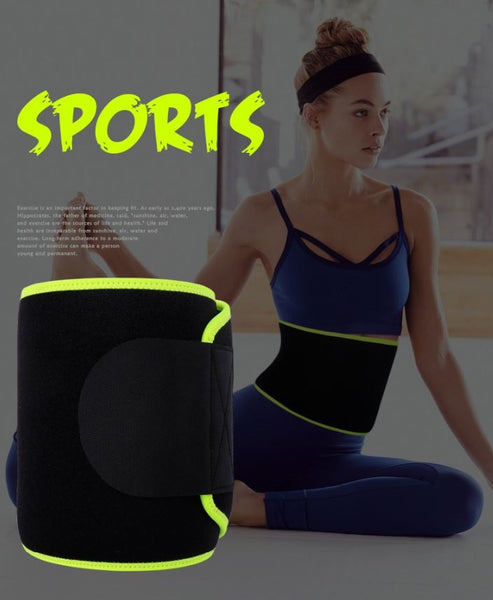 Men's & Women's Sports Waist Protect Lumbar Belt Waist Support Slimming Fitness Belt