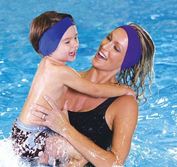 Waterproof Neoprene Kids/Adults Swimming Ear-band Headband Ear Protector
