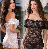 Women's Lace Dress Night Wear Sexy