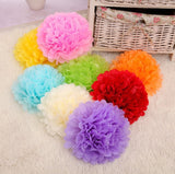 Wedding Deco-Paper Flower Pom Poms Wedding Decorations