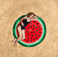 Watermelon Beach Blanket Picnic Blanket