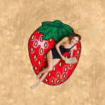 Strawberry Beach Blanket Picnic Blanket