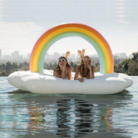 Rainbow Cloud Float