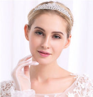 Wedding Hair Accessories - Bride Noble Rhinestone Tiara