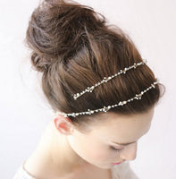 Hair Accessories - Faux Crystal Pearl hairband Wedding Special Occasion