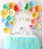 Deco - Wall Paper Flower Birthday Wedding Parties