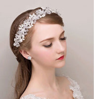 Hair Accessories - Crystal Flower Hairband