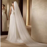 Wedding Veil - 2 layers Long Veil-3M