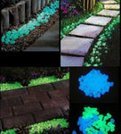 Luminous Cobblestones Pebbles Stones Glow in the Dark Garden Walkway Water Fountain Decorations