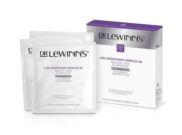 Dr.Lewinn's Line Smoothing Complex high Potency Treatment Mask 3pk