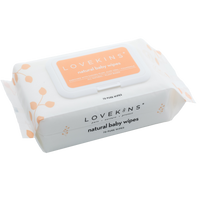 Lovekins Natural Baby Wipes 70 pure wipes