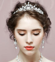 Wedding Hair Accessories - Rhinestone Bride Crown