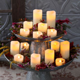 Wedding Deco - Outdoor Battery Table Candle Decorations Set