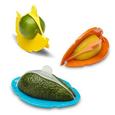 Fruit Food Saver Hugger Keeper Keep Fresh Wedge- Outs