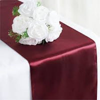 Deco - Satin Table Runner Wedding party Reception Banquet Decoration