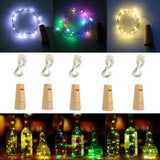 Deco - Solar Powered Copper string light Bottle cork
